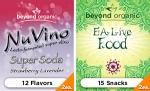 EA Live Snacks & NuVino Beverages