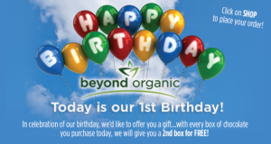 Happy Beyond Organic Birthday