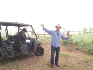 Jason Dewberry at Beyond Organic Ranch
