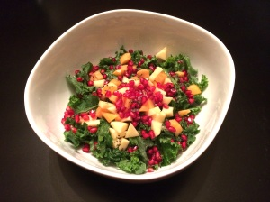 fruit salad with kale