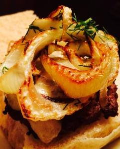 fennel burger