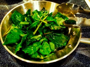 Spicy Beet Greens
