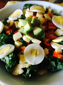 Protein-Packed Salad (Vegetarian)